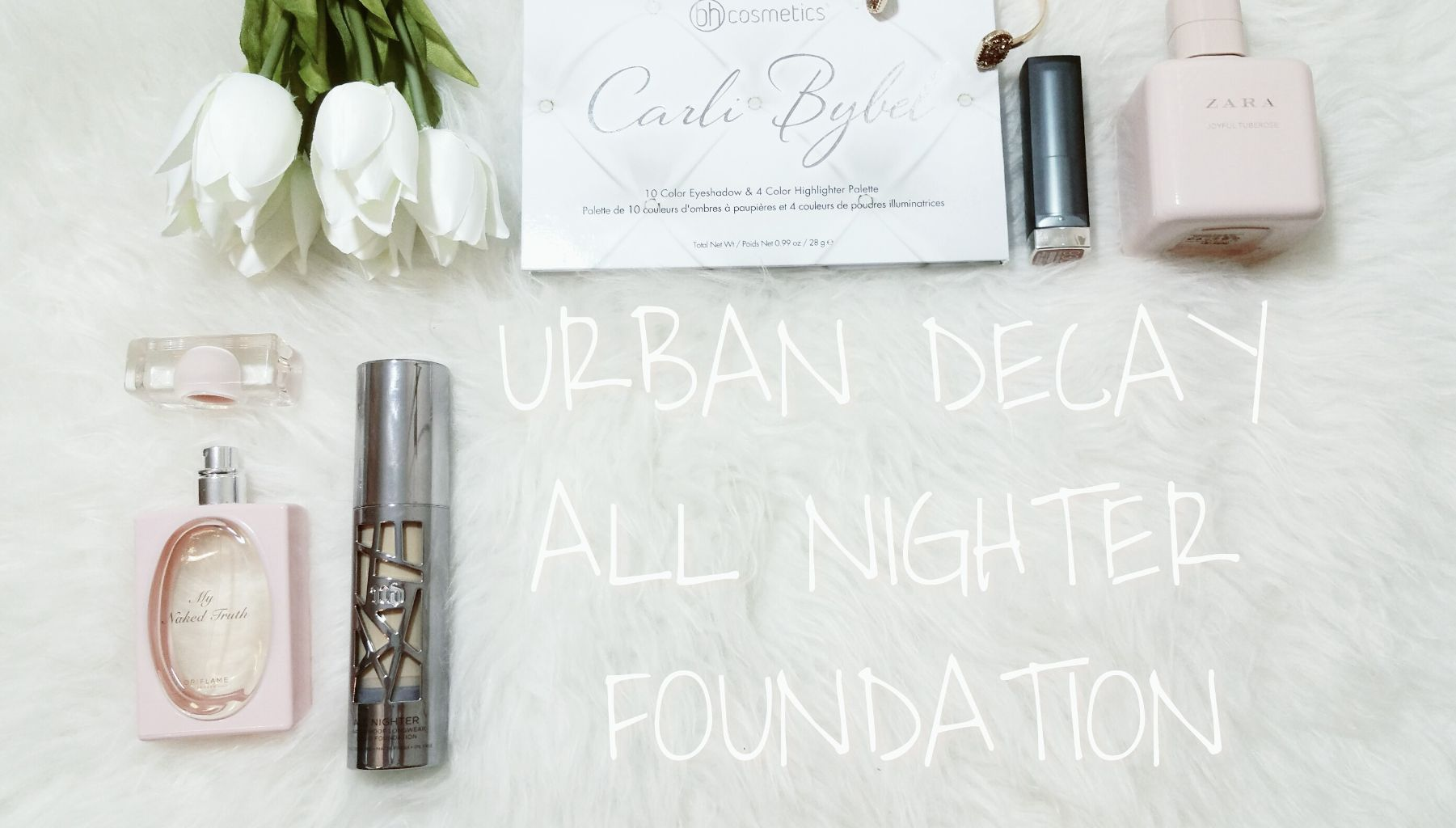 URBAN DECAY ALL NIGHTER FOUNDATION : REVIEW