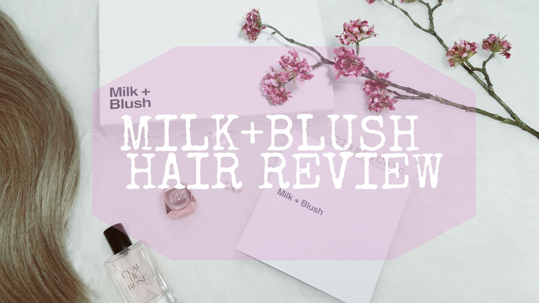 MILK+BLUSH HAIR EXTENSION REVIEW + STORY TIME